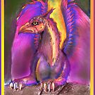 Rainbow Griffon by Stephanie Small