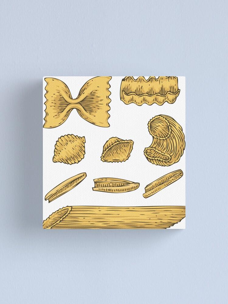 Alternate view of Pasta Canvas Print
