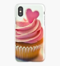 Pink cupcakes iPhone Case/Skin