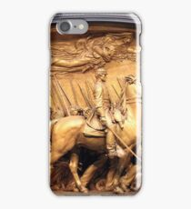 Saint Gaudens' The Shaw Memorial Marches On iPhone Case/Skin