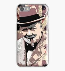 Sir Winston Churchill iPhone Case/Skin