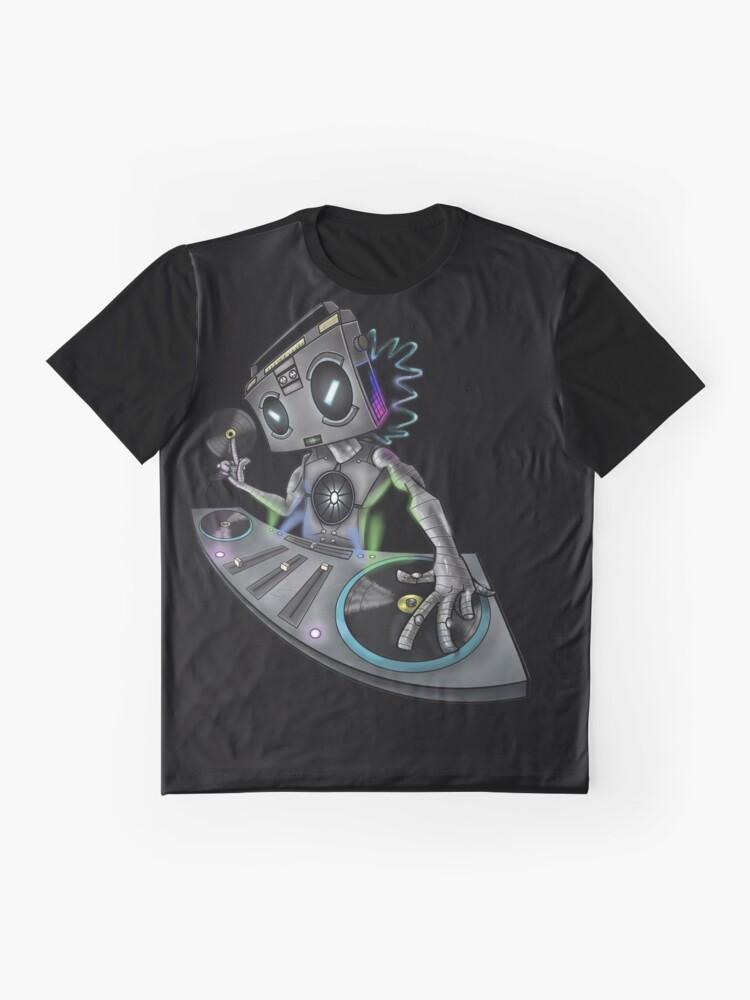 Alternate view of DJ Stereohead Graphic T-Shirt