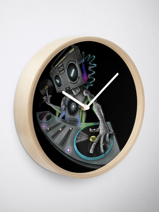 Alternate view of DJ Stereohead Clock