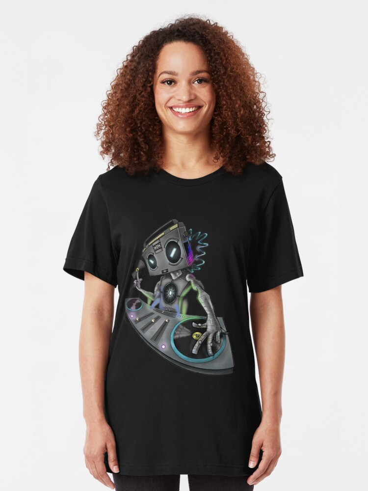 Alternate view of DJ Stereohead Slim Fit T-Shirt