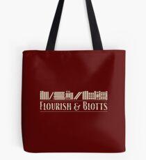 Flourish & Blotts Tote Bag