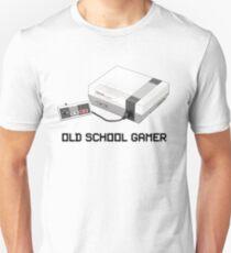 NES 'Old School Gamer' Design for Nintendo Fans Unisex T-Shirt
