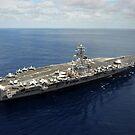 Nimitz-Klasse Flugzeugträger USS Dwight D. Eisenhower. von StocktrekImages