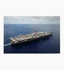 Nimitz-class aircraft carrier USS Dwight D. Eisenhower. Photographic Print