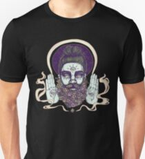 FLOWER BEARD RAINBOW Unisex T-Shirt