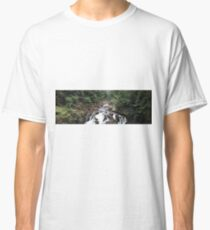 Wild Scottish Waterfall Classic T-Shirt