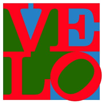 Velo Love – Logo – June 12th – 200th Birthday of the Bicycle by Hell-Prints