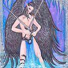 Black Winged Angel by Stephanie Small