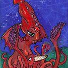 Smoking Cthulu by Stephanie Small