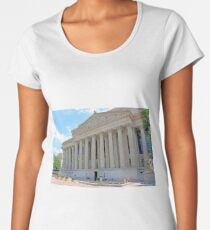 Archives Of The United States Of America -- Pennsylvania Avenue Women's Premium T-Shirt