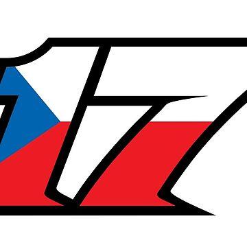 #17 Karel Abarham - MotoGP Rider Number by xEver