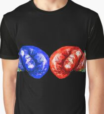 Red and blue boxing gloves Graphic T-Shirt