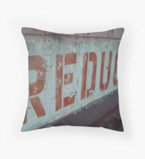 Reduced Throw Pillow