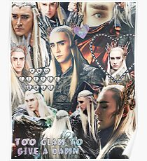 thranduil collage Poster