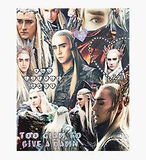 thranduil collage Photographic Print