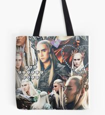 thranduil collage Tote Bag
