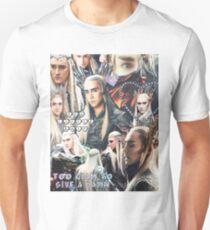 thranduil collage Unisex T-Shirt