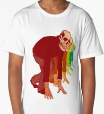 Racing Rainbow Skeletons Long T-Shirt