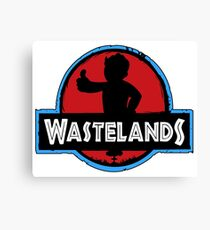 wastelands park movie game funny humor old parody apocalypse Canvas Print