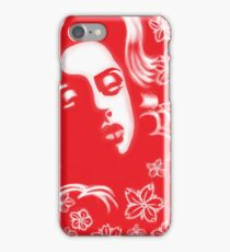 CHOLA WITH BLOSSOMS iPhone Case/Skin