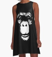 Everything's More Fun With Monkeys A-Line Dress