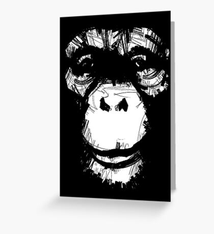 Everything's More Fun With Monkeys Greeting Card