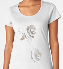 Skullboys' Banjo Blues Women's Premium T-Shirt