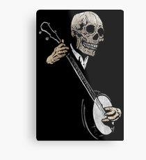Skullboys' Banjo Blues Metal Print