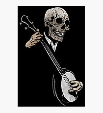 Skullboys' Banjo Blues Photographic Print