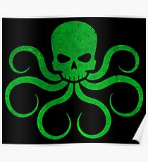 Hail Hydra! - Green Poster