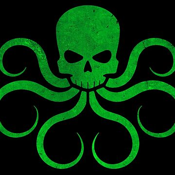 Hail Hydra! - Green by Chairboy
