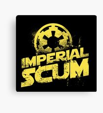 imperial scum funny parody movie new rebel bad people humor Canvas Print