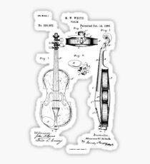 Violin player Violinist Gift Play Violin  Sticker