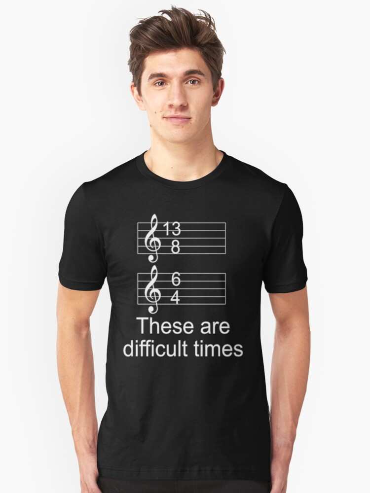 3d96416aac8 These Are Difficult Times shirt