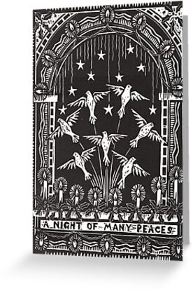 Night Of Many Peaces by daniel cautrell