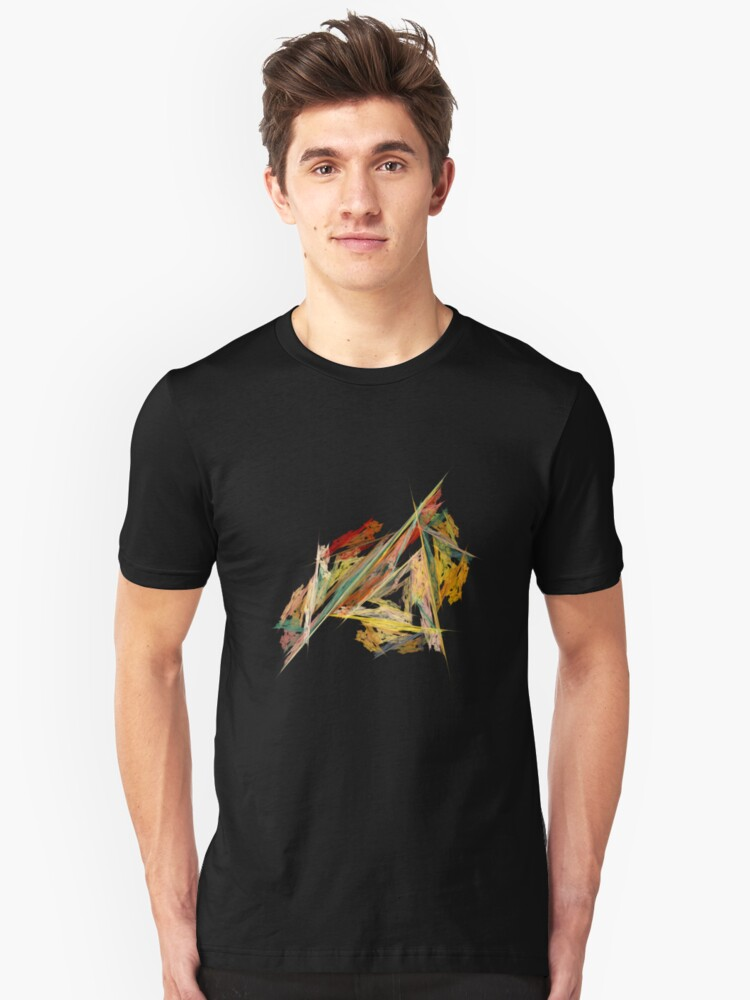 Dance Of The Triangles Tee Unisex T-Shirt Front
