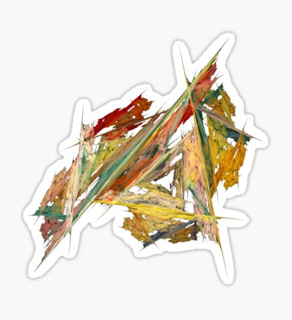Dance Of The Triangles Tee Sticker