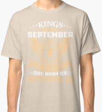 Kings Legends Are Born On September 30 Classic T-Shirt