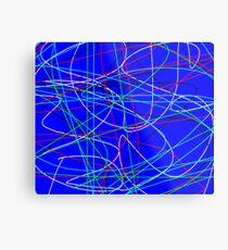 Photon Trails Metal Print