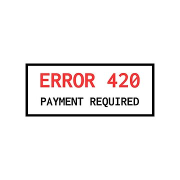 Error 420 Payment Required by lukassfr