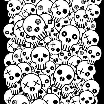 Skull Pile by ChunkyDesign