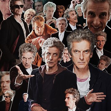 Peter Capaldi - 12th Doctor by bluevanart