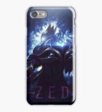 league of legends-championship zed iPhone Case/Skin