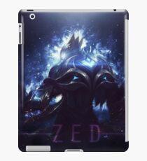 league of legends-championship zed iPad Case/Skin