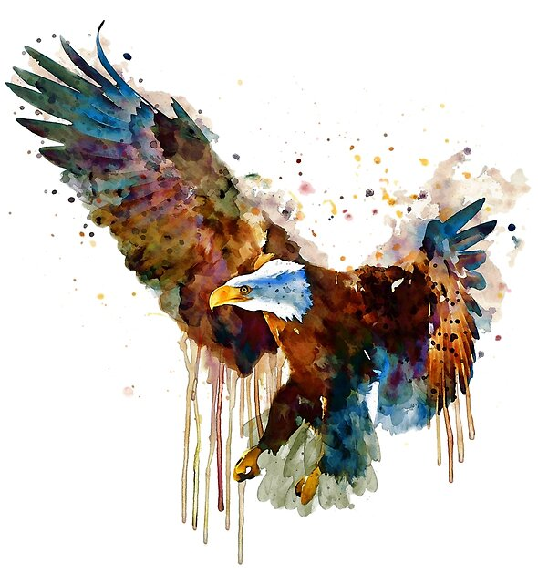 Free and Deadly Eagle by Marian  Voicu