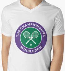 Wimbledon T-Shirt mit V-Ausschnitt für Männer